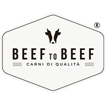 logo beef to beef con marchio